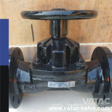 Handwheel Cast Steel RF Flanged Kb Diapgragm Valve